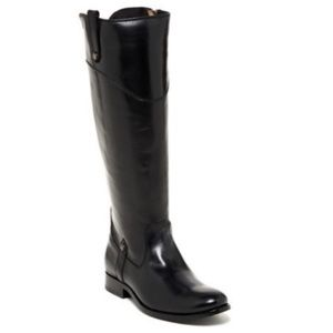 NWOT Frye Melissa Button Riding Boots